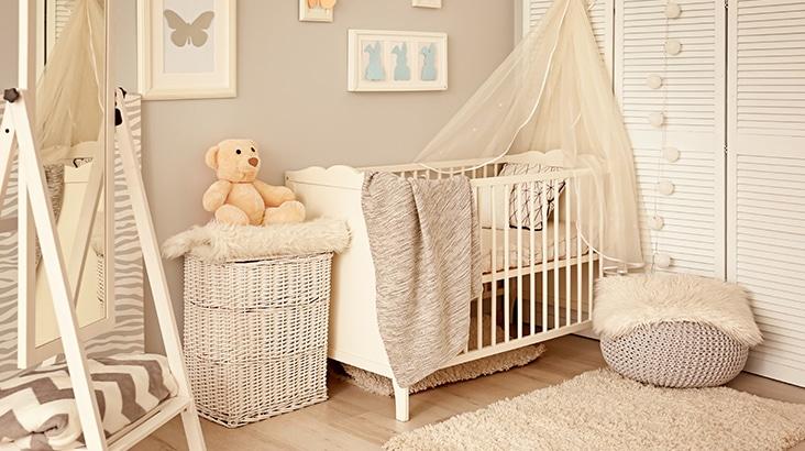 confort chambre de bébé