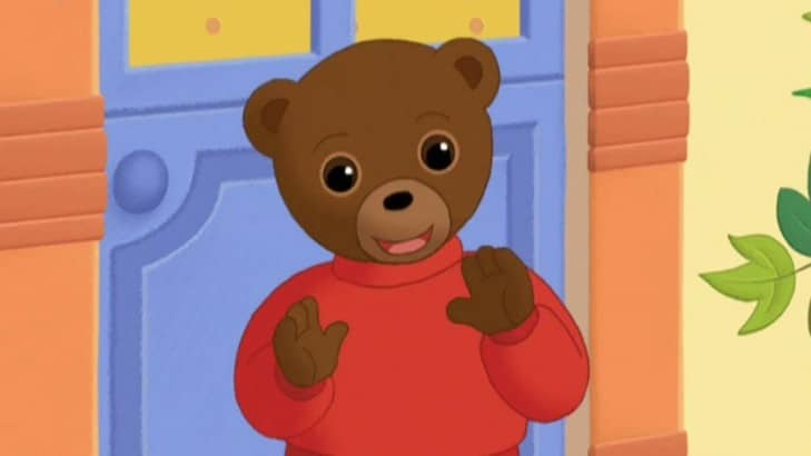 Le petit ours brun