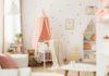 Quelle couleur choisir pour la chambre d'un bébé fille