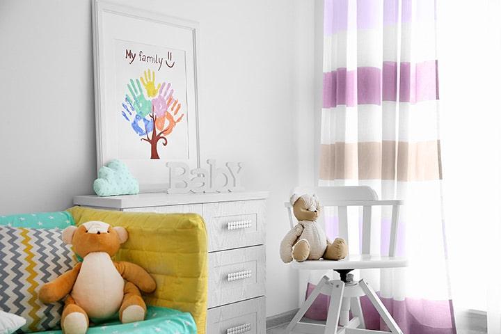 bien choisir les couleurs de la chambre de bébé fille