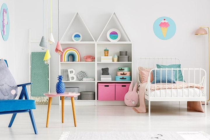 couleurs conseillés pour la chmabre de bébé fille