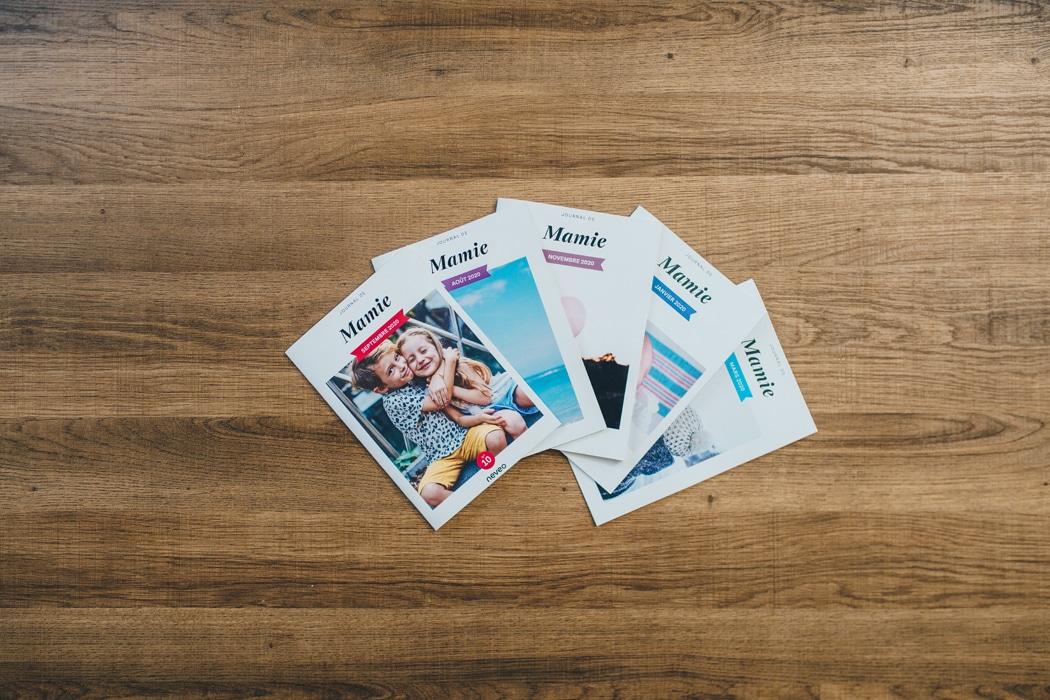 Neveo : l'application pour envoyer un journal mensuel à ses proches