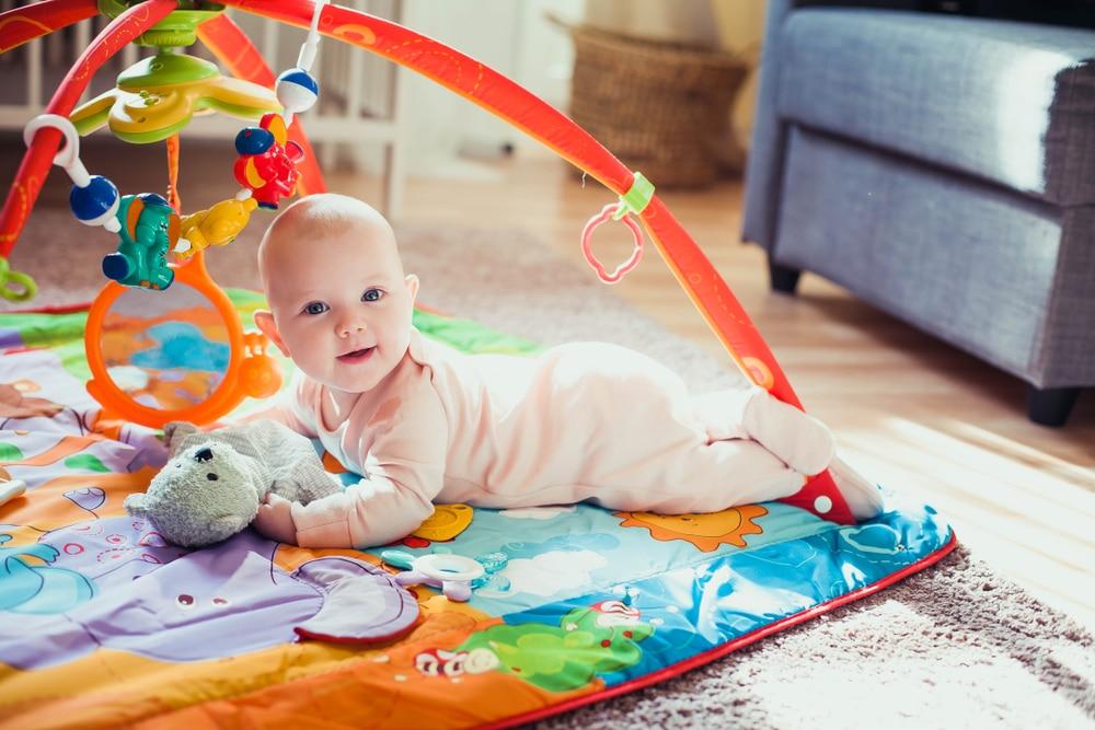 Tapis d'eveil montessori bébé