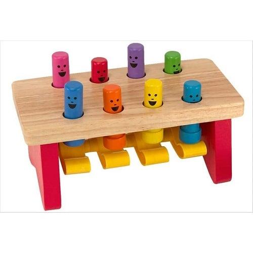 jeu montessori 2 ans
