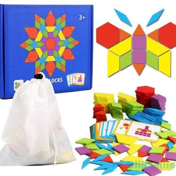 jeu montessori tangram