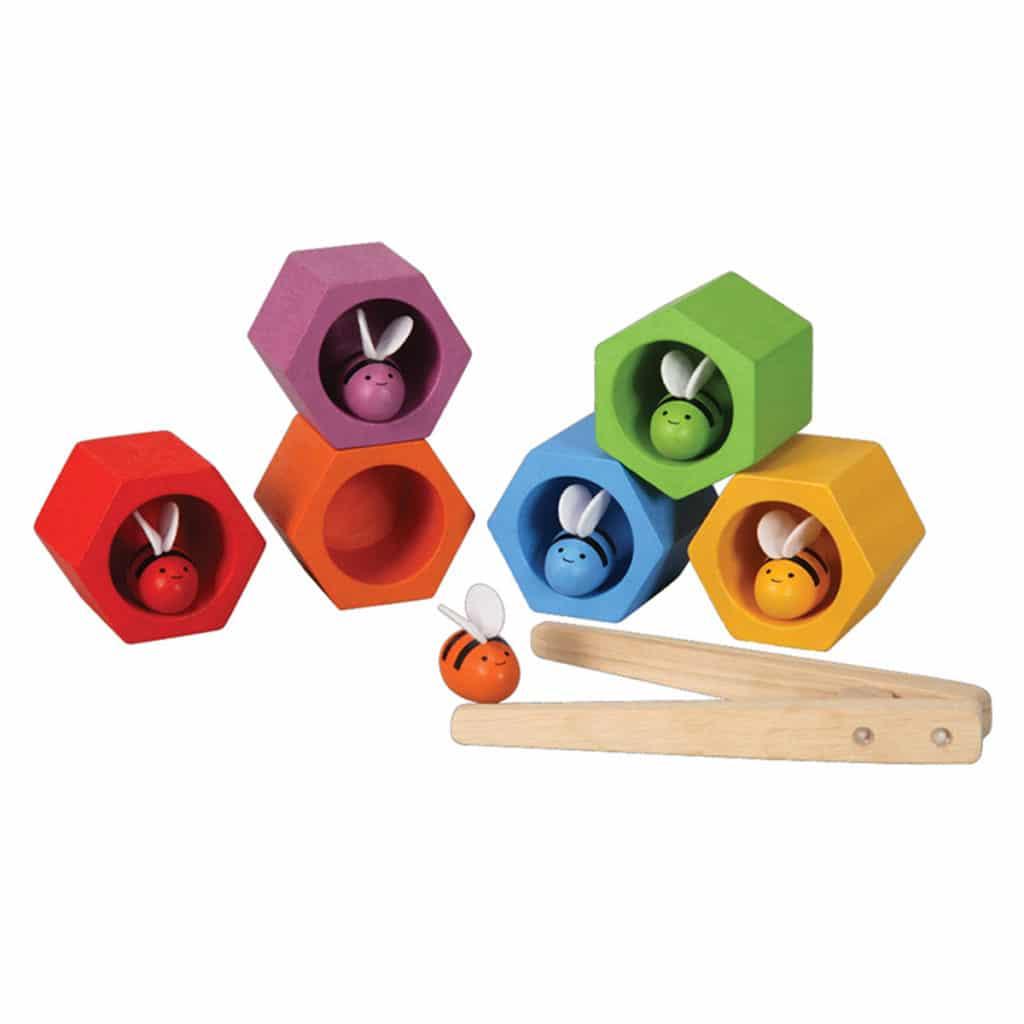 jouet montessori nid d abeille