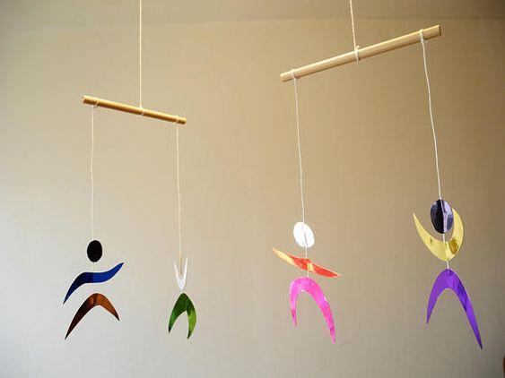 mobile des danseurs montessori