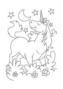 Coloriage-licorne-facile-gratuit-a-imprimer-9