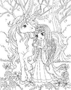 dessin-a-colorier-licorne-et-princesse-10
