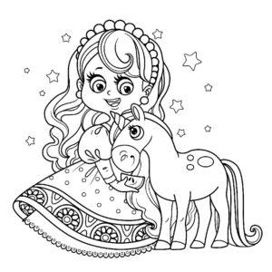dessin-a-colorier-licorne-et-princesse-12
