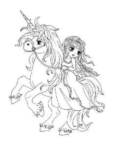 dessin-a-colorier-licorne-et-princesse-4