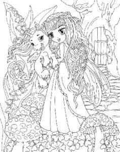 dessin-a-colorier-licorne-et-princesse-8