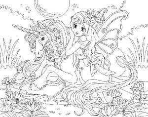 dessin-a-colorier-licorne-et-princesse-9