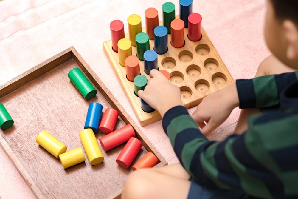 les axes de la méthode montessori