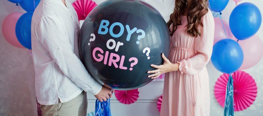 gender reveal comment organiser