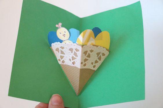 carte pâques enfants
