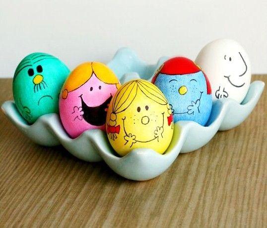 décorer œufs de pâques