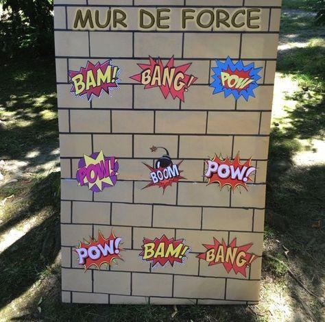 mur de force enfant