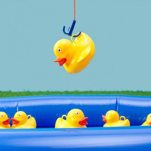 pêche aux canards jeu anniversaire