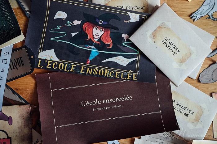 Escape game enfant - M Comme le blog