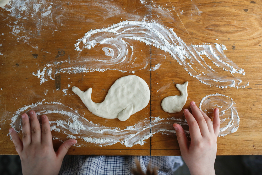 La recette de la pâte à modeler