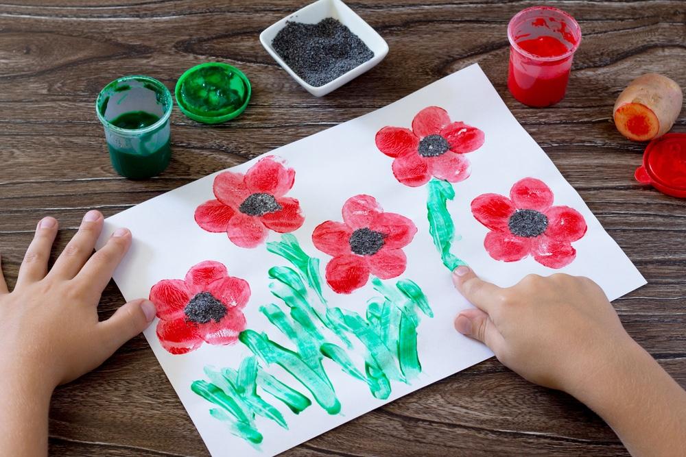 activités manuelles enfants printemps