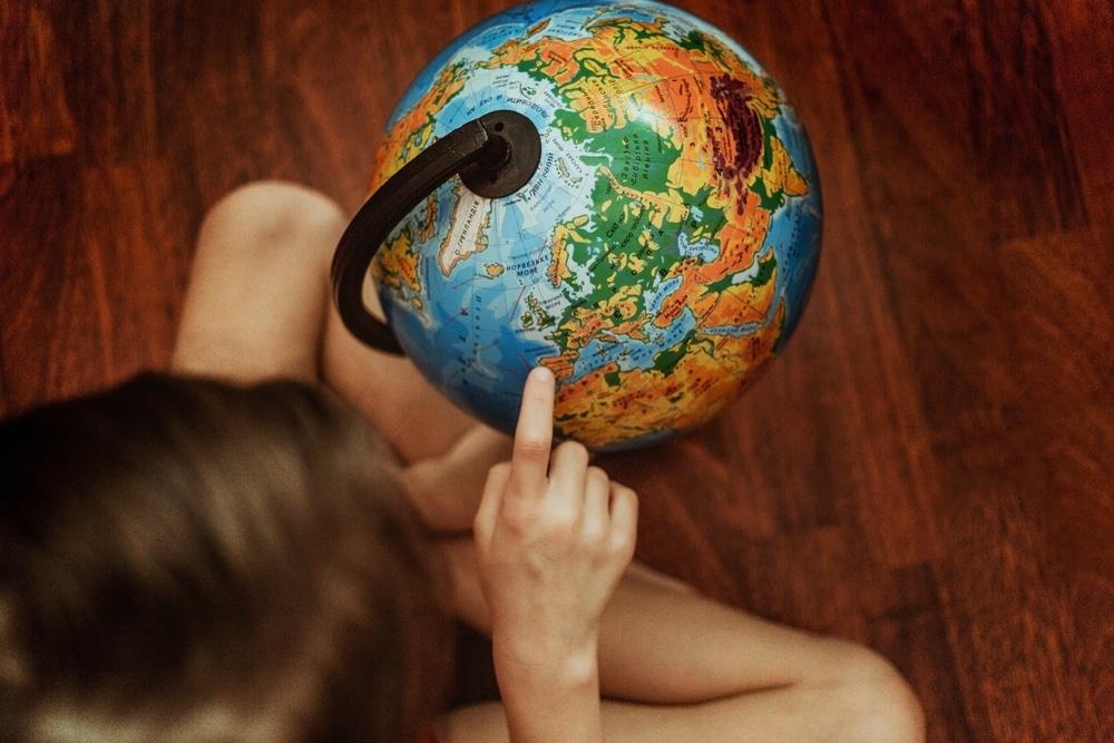 apprendre les continents à ses enfants