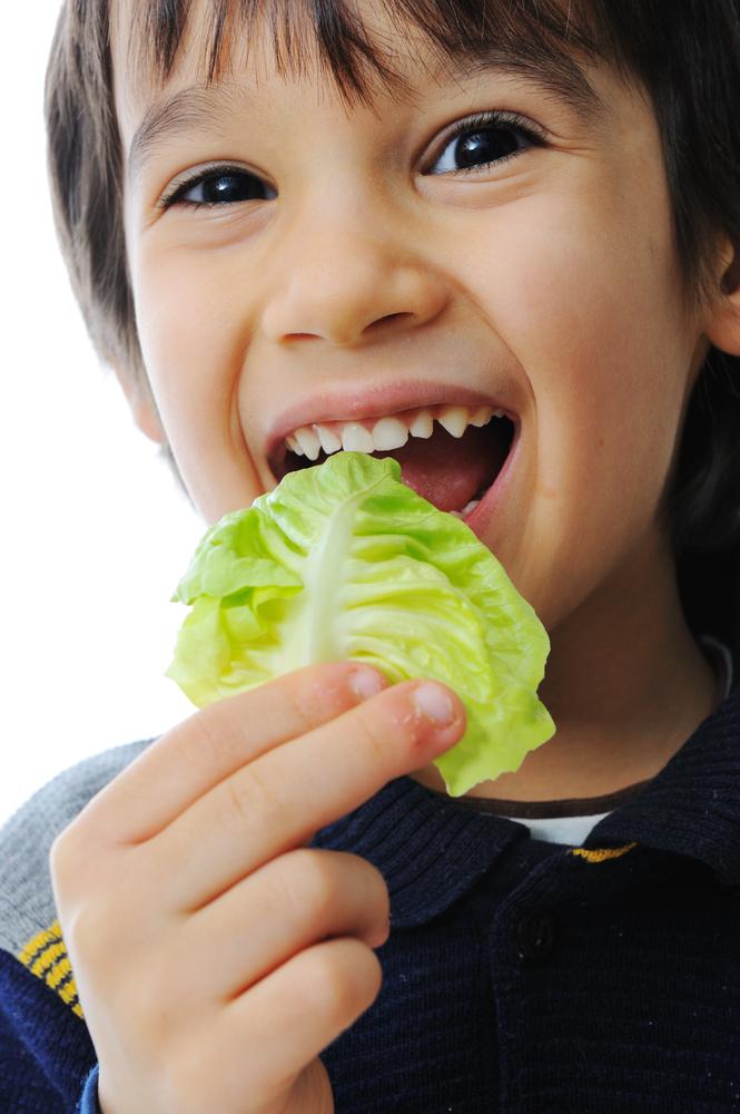 légumes d'octobre  enfants